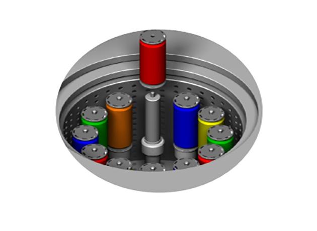 筒纱排水机1