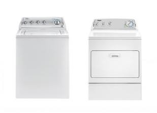 Whirpool美标缩水率洗衣机&烘干机