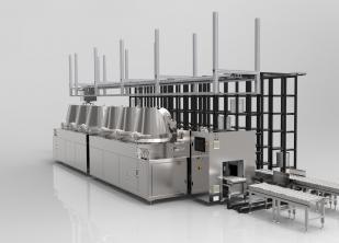 染料全自动装卸溶解系统